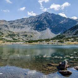 Езерото до хижа Мусала