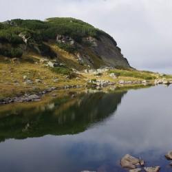 Езеро в района на хижа Мальовица